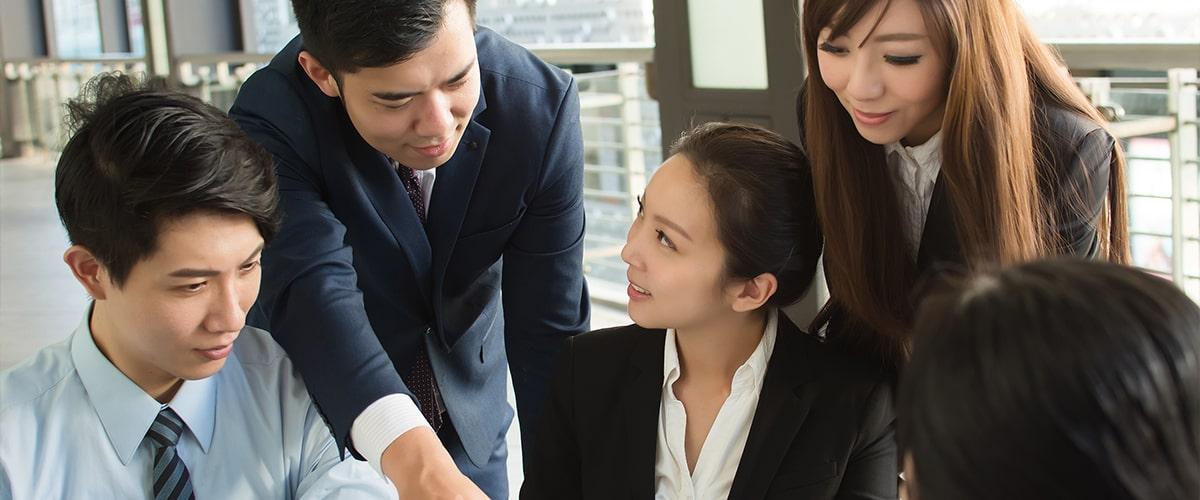 理由3:問題提起力・提案力 個性豊かなスタッフがお客様の問題解決をお手伝いします!